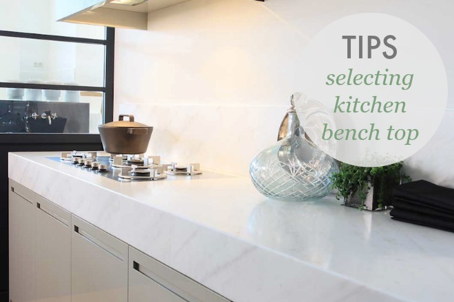 How to Select Your Kitchen Bench Top