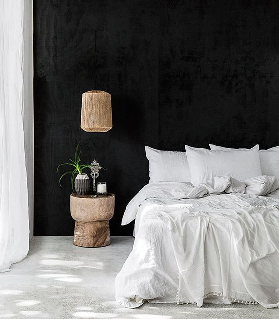 aHow to select colour for the mood you want to achieve black bedroom