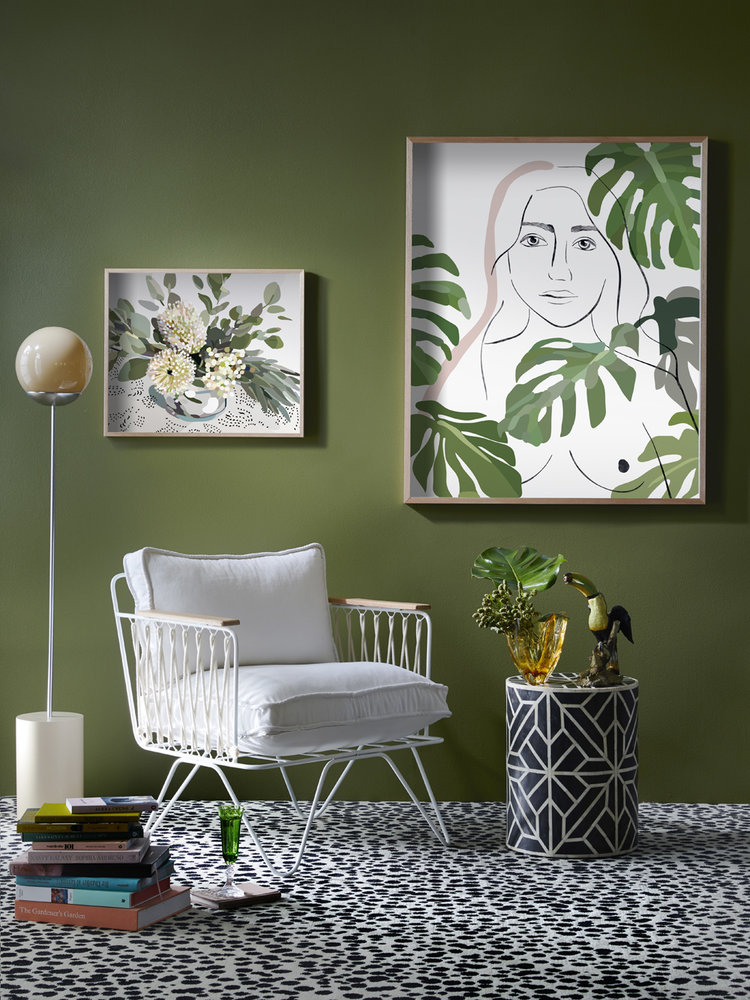 Green wall paint How to select colour for the mood you want to achieve