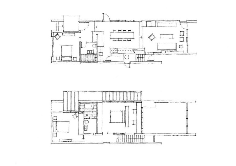 Box House floor plan