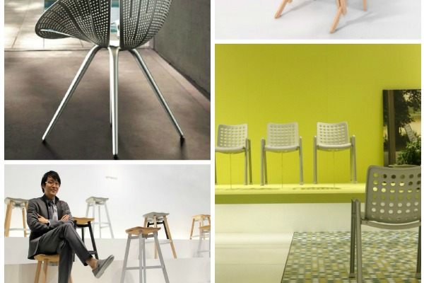 Top 4 Chairs from Milan Design Week 2014