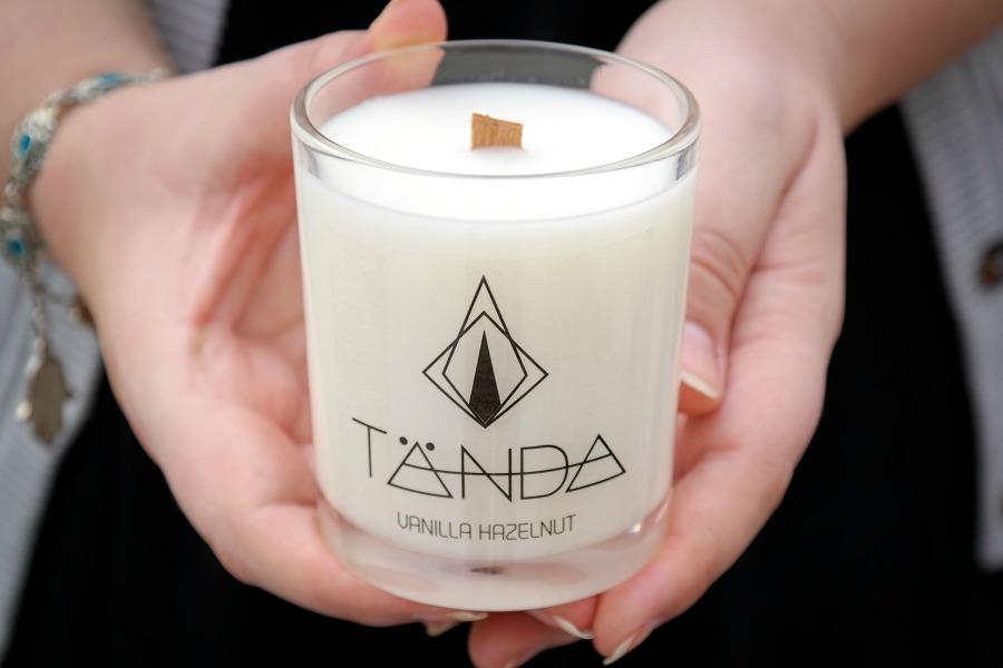 TANDA candles wood wicks