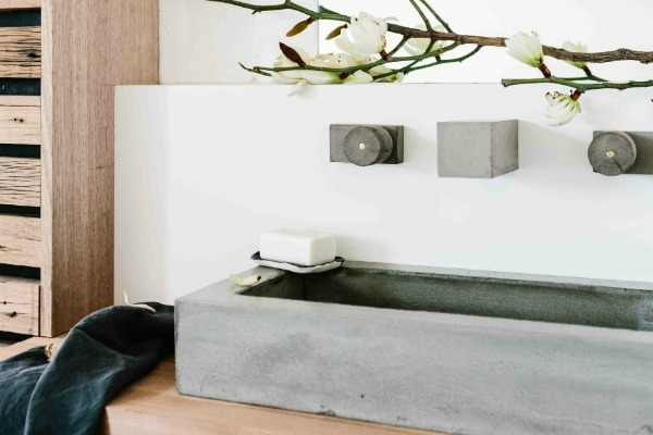 New Concrete Bath and Tap Ware Range from Wood Melbourne