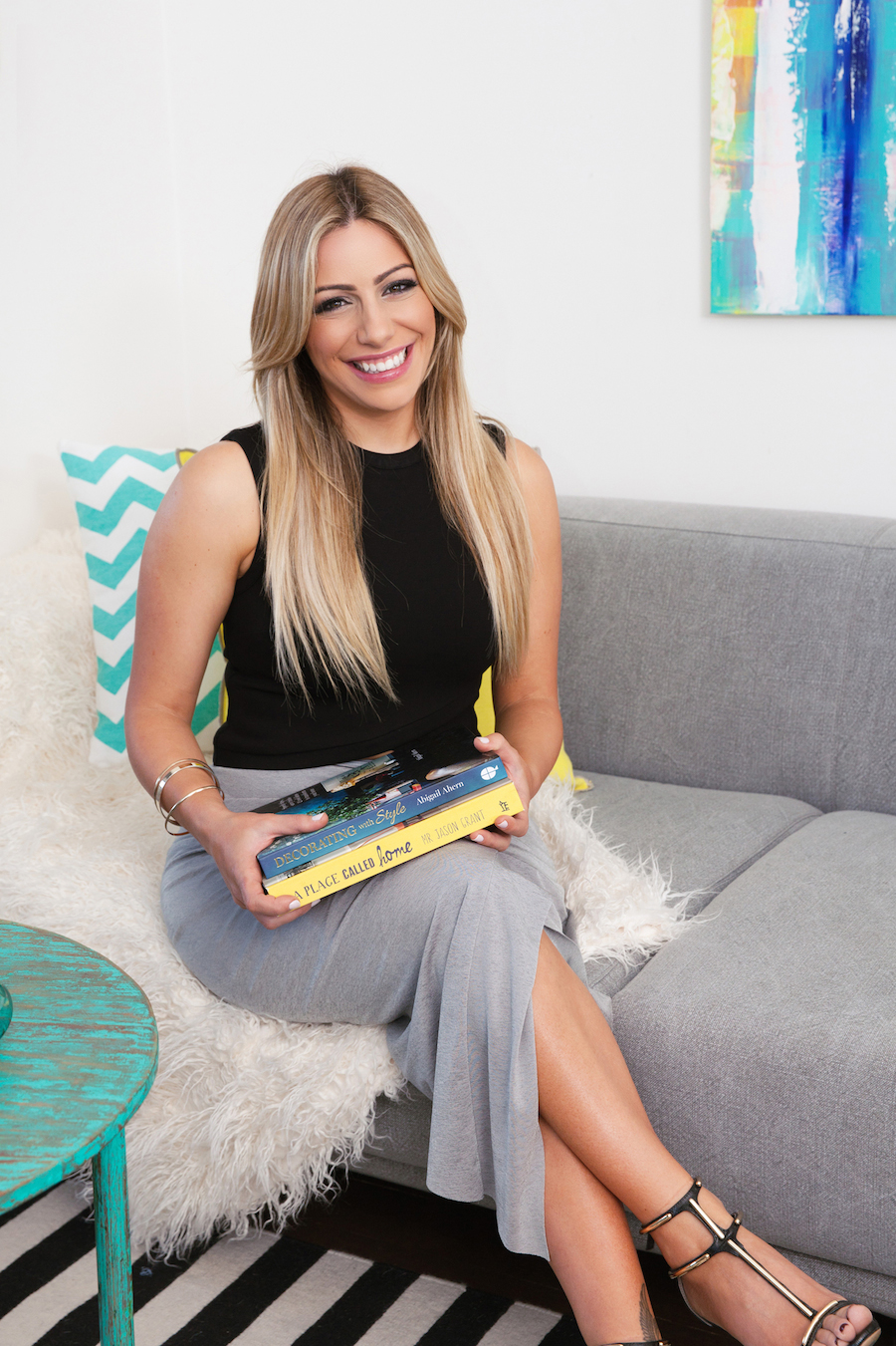 Bec Douros with style books