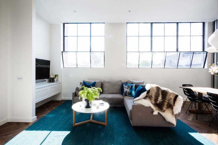 Darren and Dee's living room