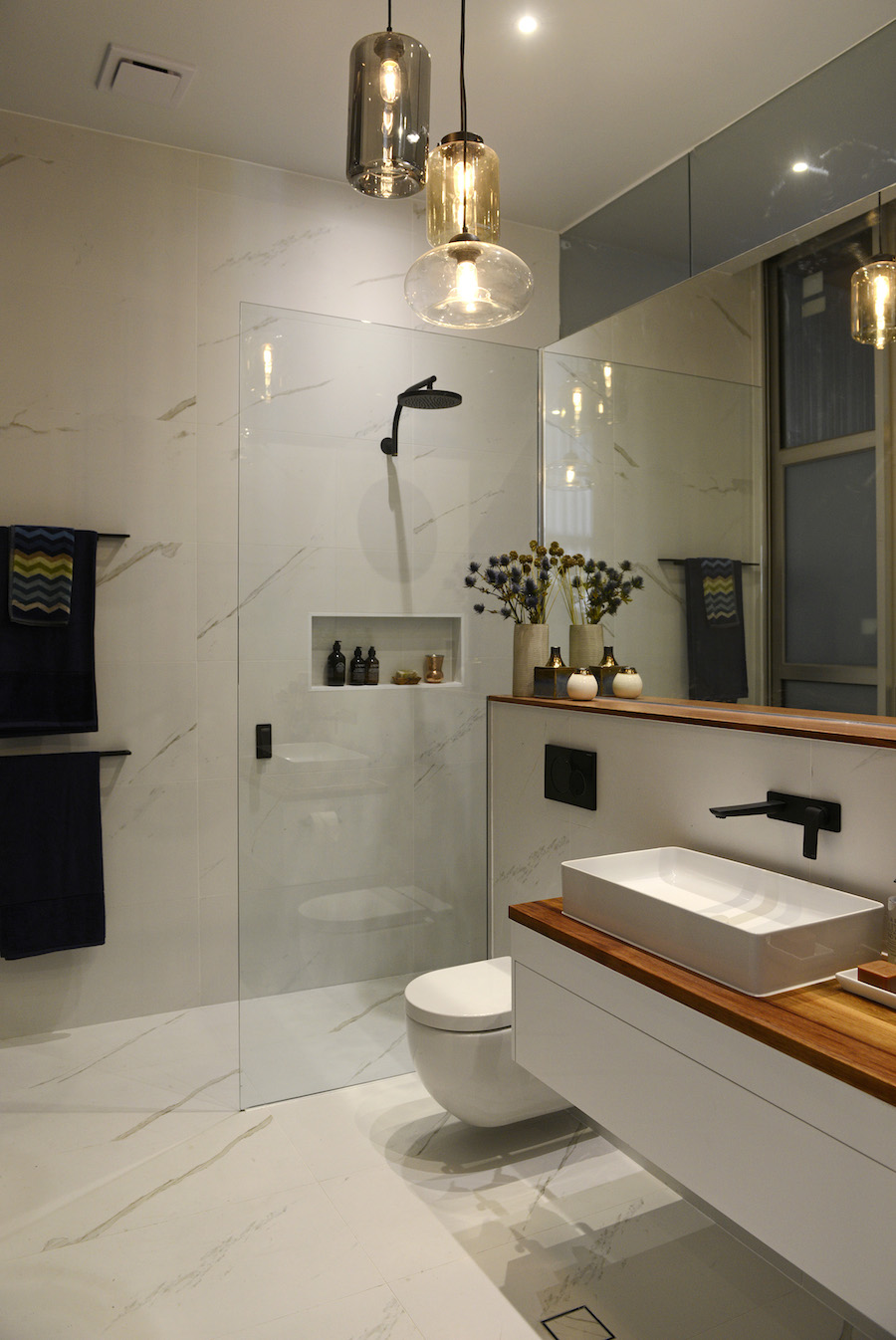 Need to decide on ensuite design and finishes for E bathrooms fyshwick
