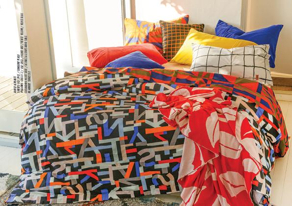 Graphic Kip & Co bedding