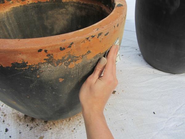 Sand pots