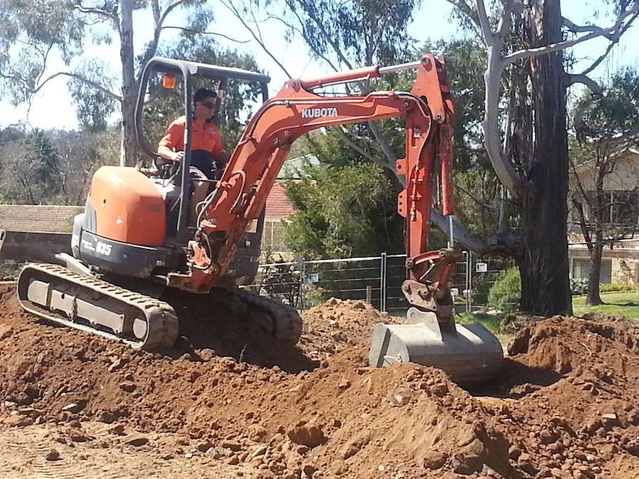 Site cut construction update