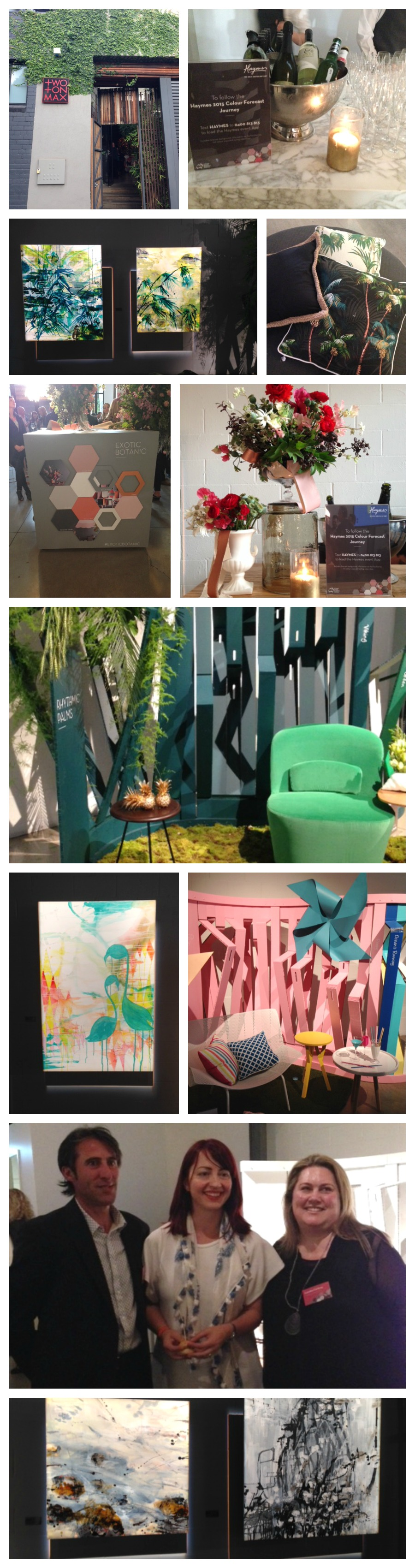 Haymes 2015 Colour Forecast Launch Party