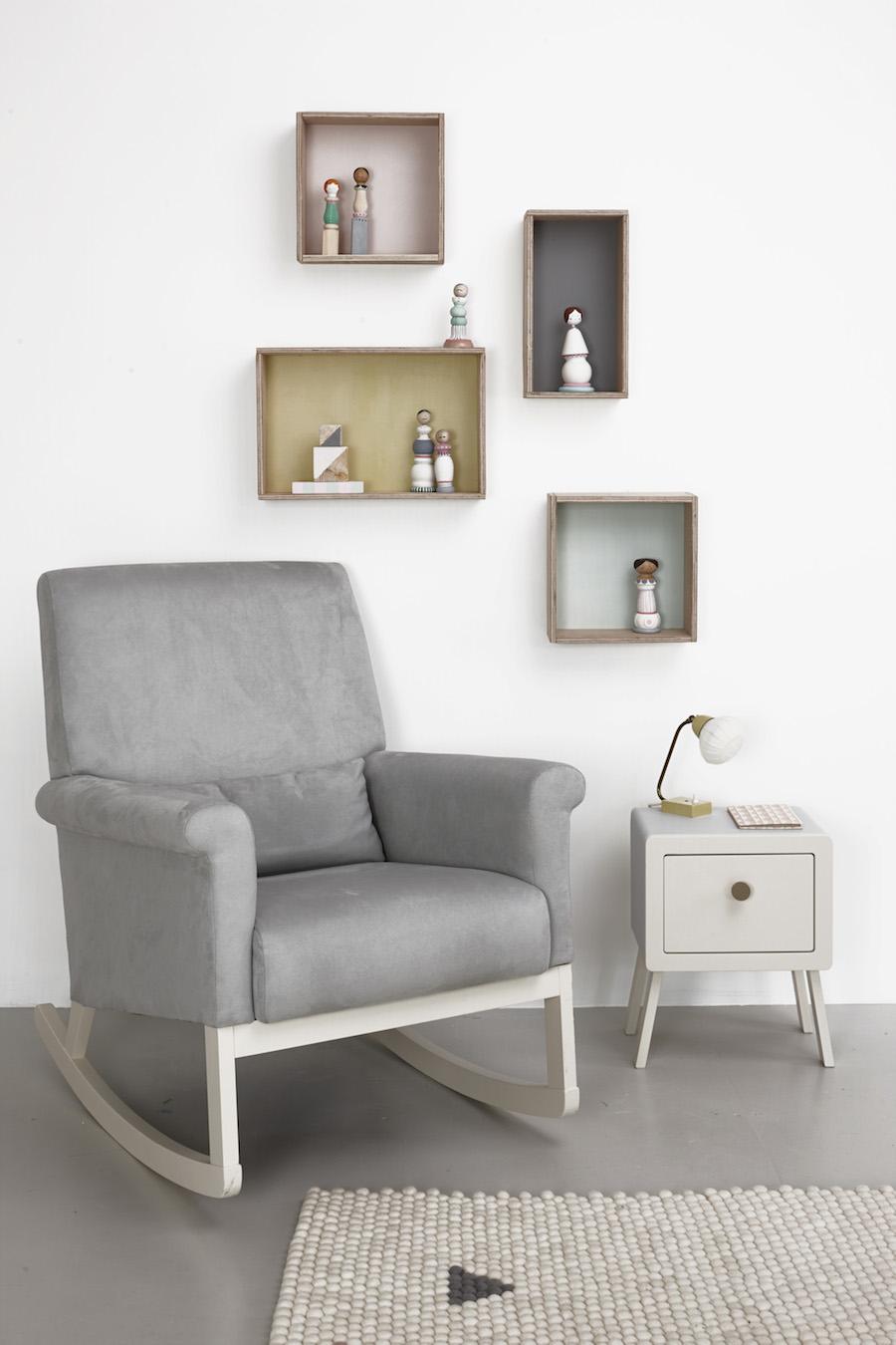 The Ro-Ki rocker chair by Olli Ella