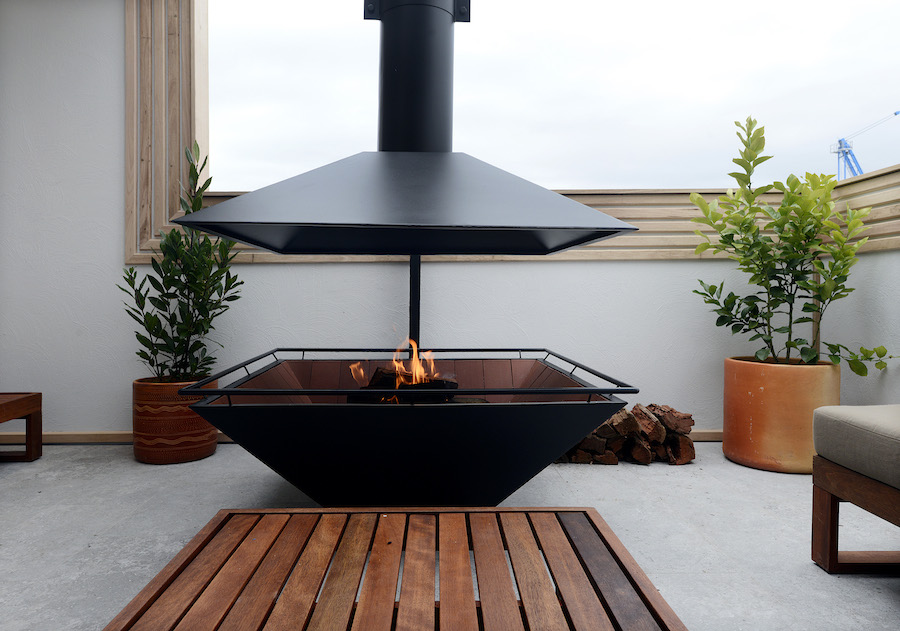 The 10/10 fire pit
