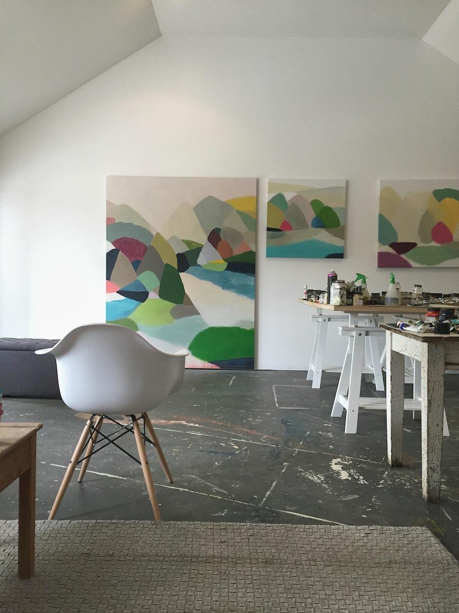 Belynda Henry's studio