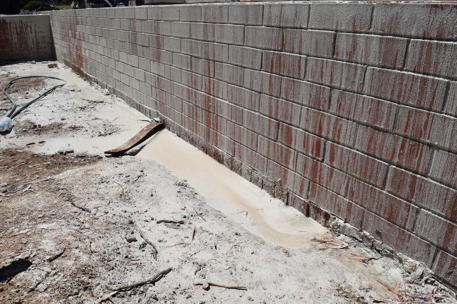 Concrete sludge