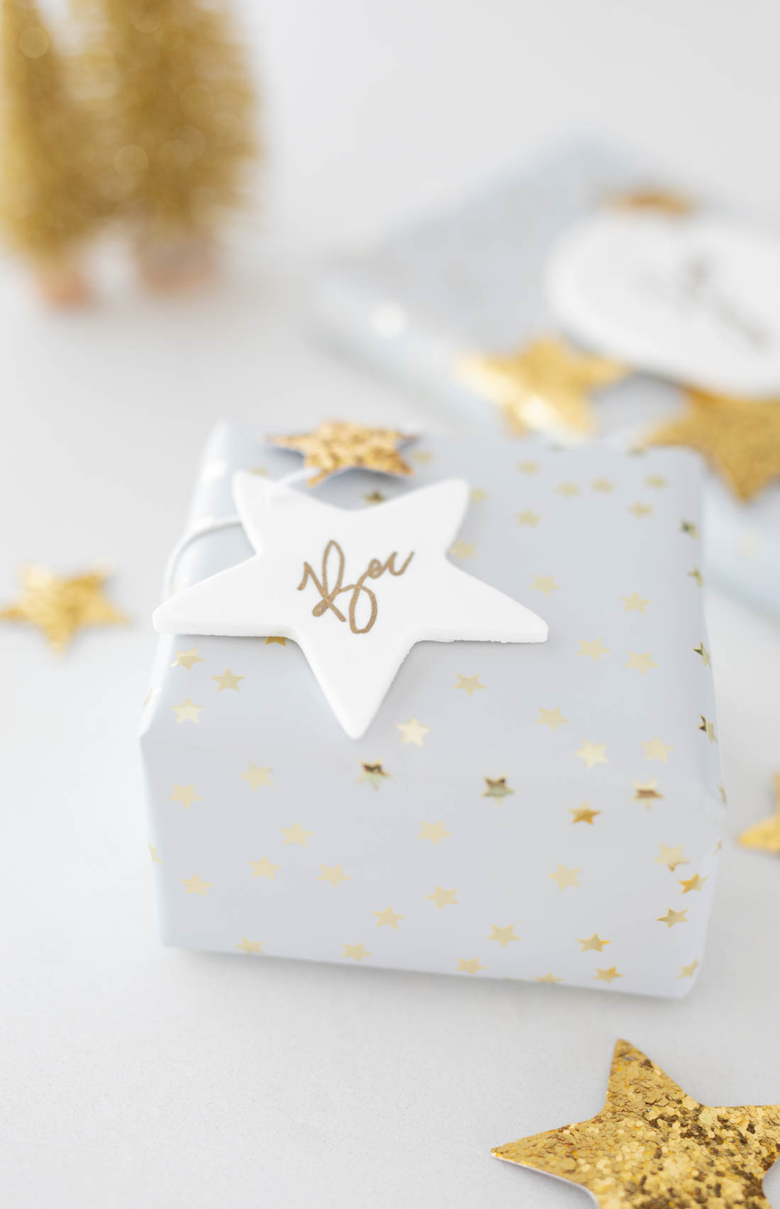 Easy DIY clay gift tags