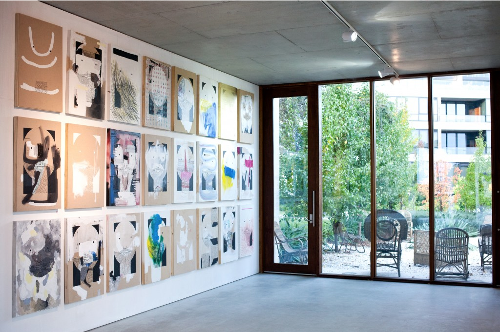 'Straight Face' exhibition at Nishi Gallery