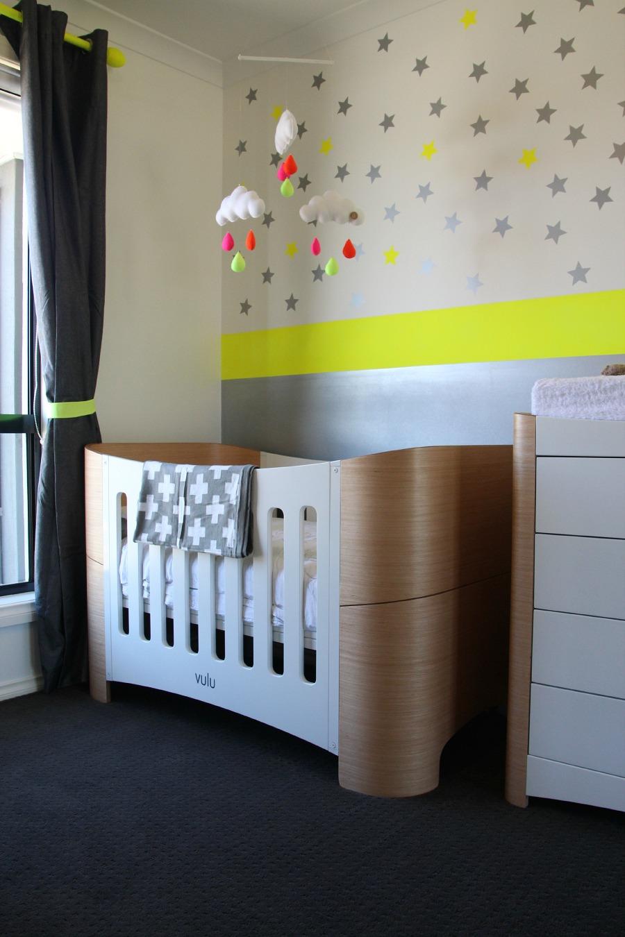Naomi's neon nursery