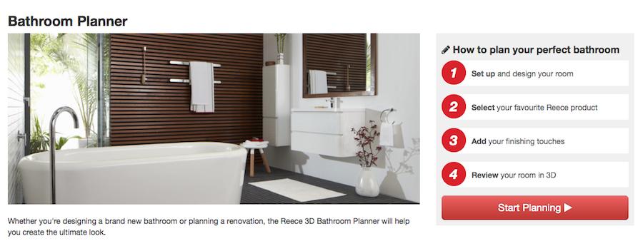 Reece 3D Bathroom Planner