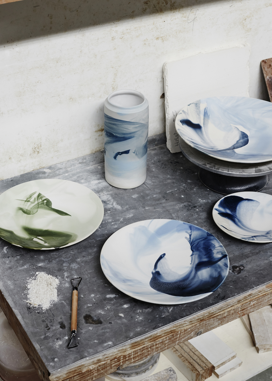 Robert Gordon Australia and The Design Files tableware close up