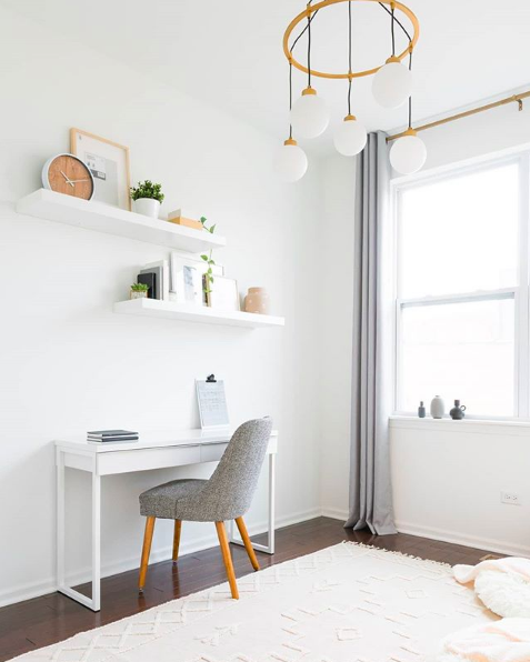 Scandi inspired home office