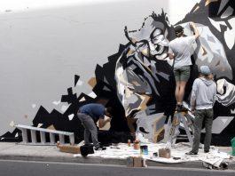 Ugg Shop mural