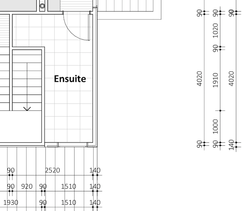 Need to decide on ensuite design and finishes for Ensuite design plans