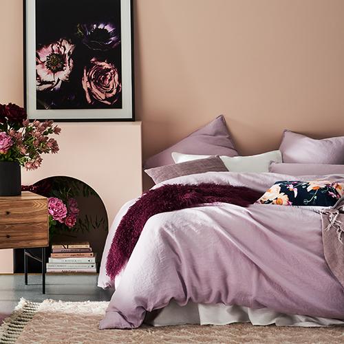 Violet quilt set