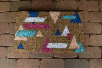 How to make geometric mat