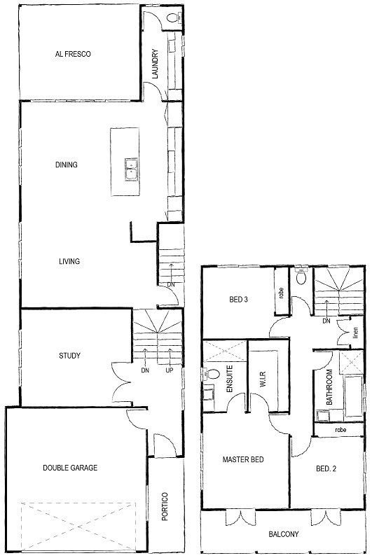 Katie and Mitch Floor Plan First time home builders