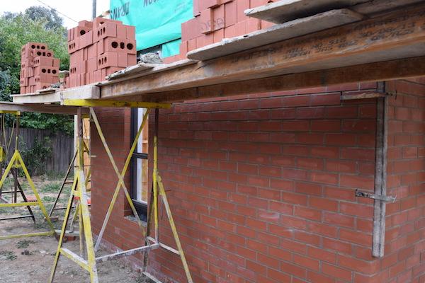 Red bricks and windows