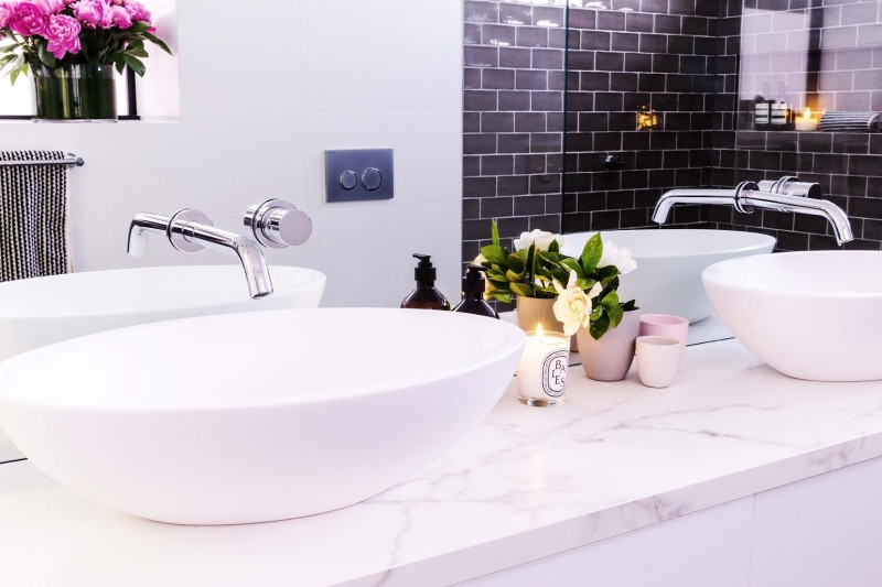 Darren and Dea vanity ensuite room reveals