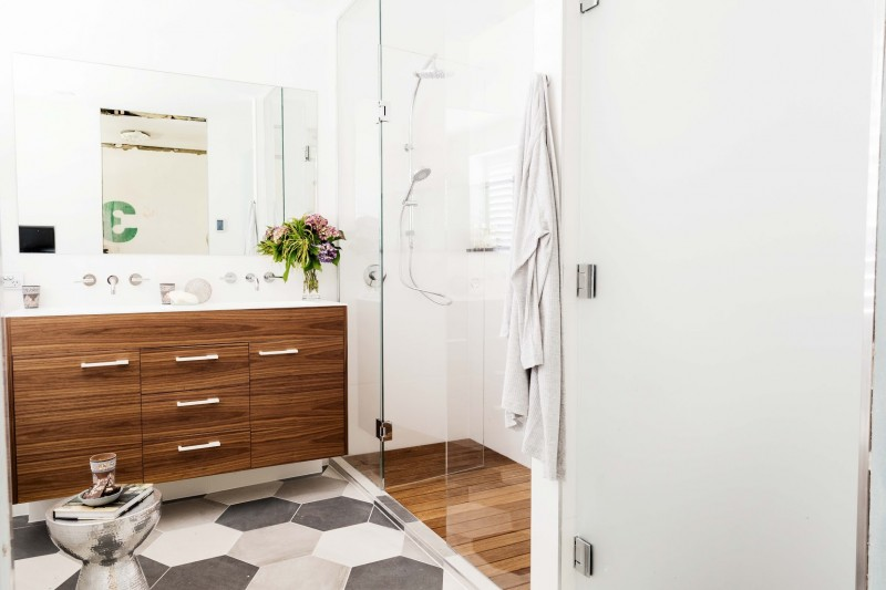 Jess and Ayden shower ensuite room reveals