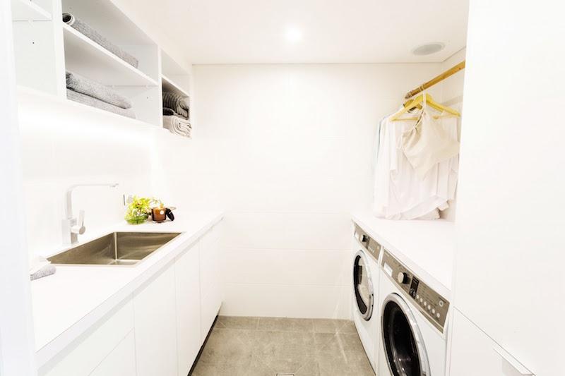 Josh and Charlotte laundry