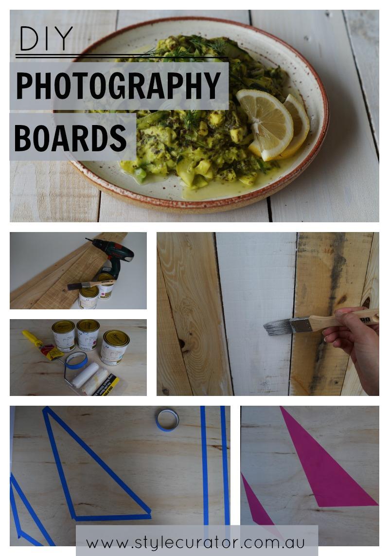 DIY photography boards