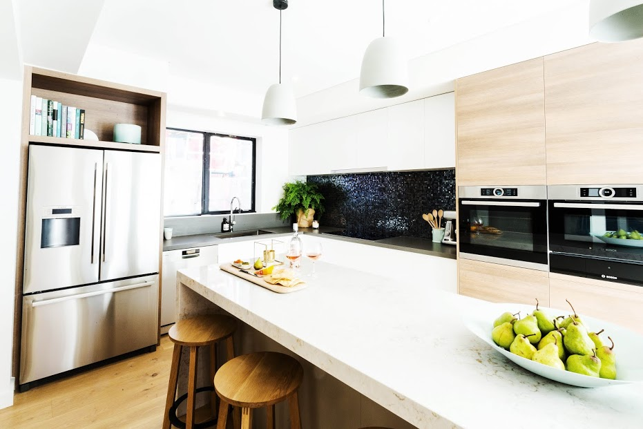 Darren and Dea splashback kitchen room reveal
