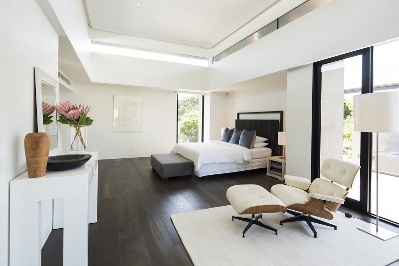 Large airy bedroom