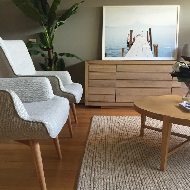 Warf art living room