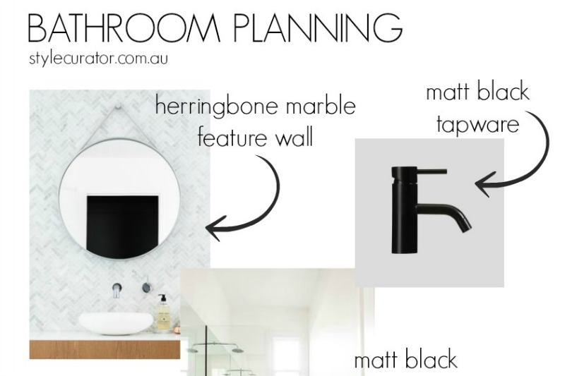 Bathroom planning feature