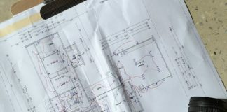Lighting and electrical plan