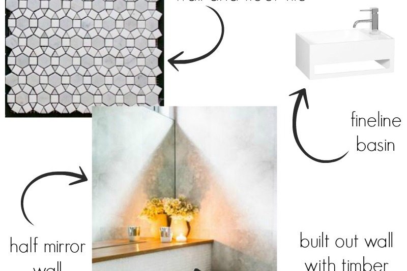Powder room planning feature