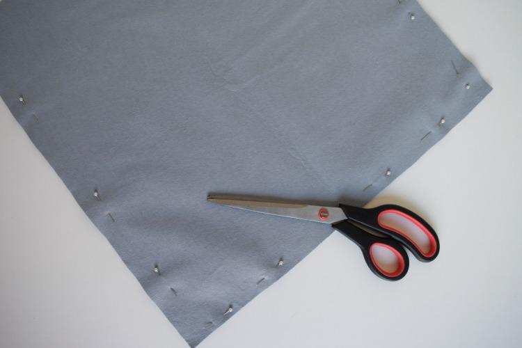 Cut cushion to size