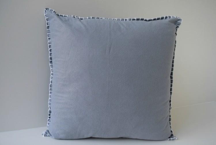 DIY felt stitch cushion