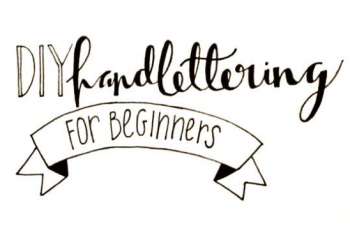 DIY hand lettering for beginners