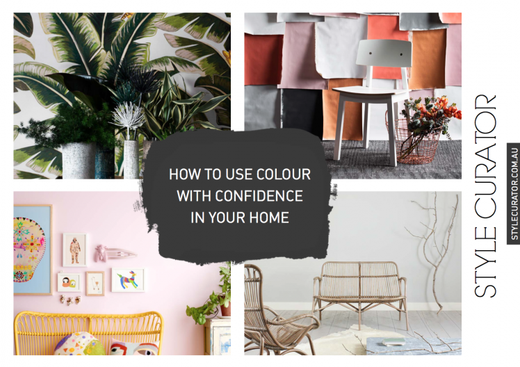 How to Use Colour With Confidence in Your Home, Free e-Book