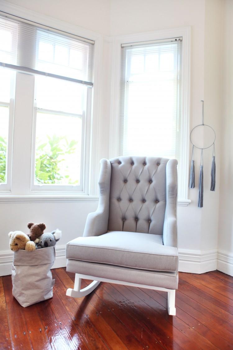 Bordeaux rocking chair
