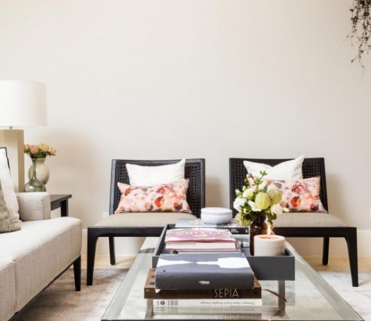 Living room armchairs