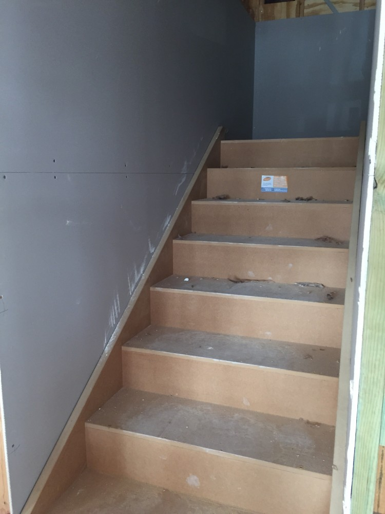 Stairs construction update