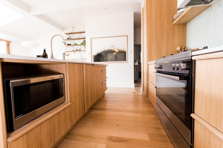 Timber kitchen
