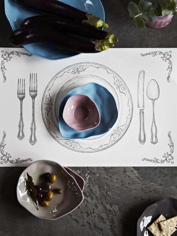Marmoset tableware