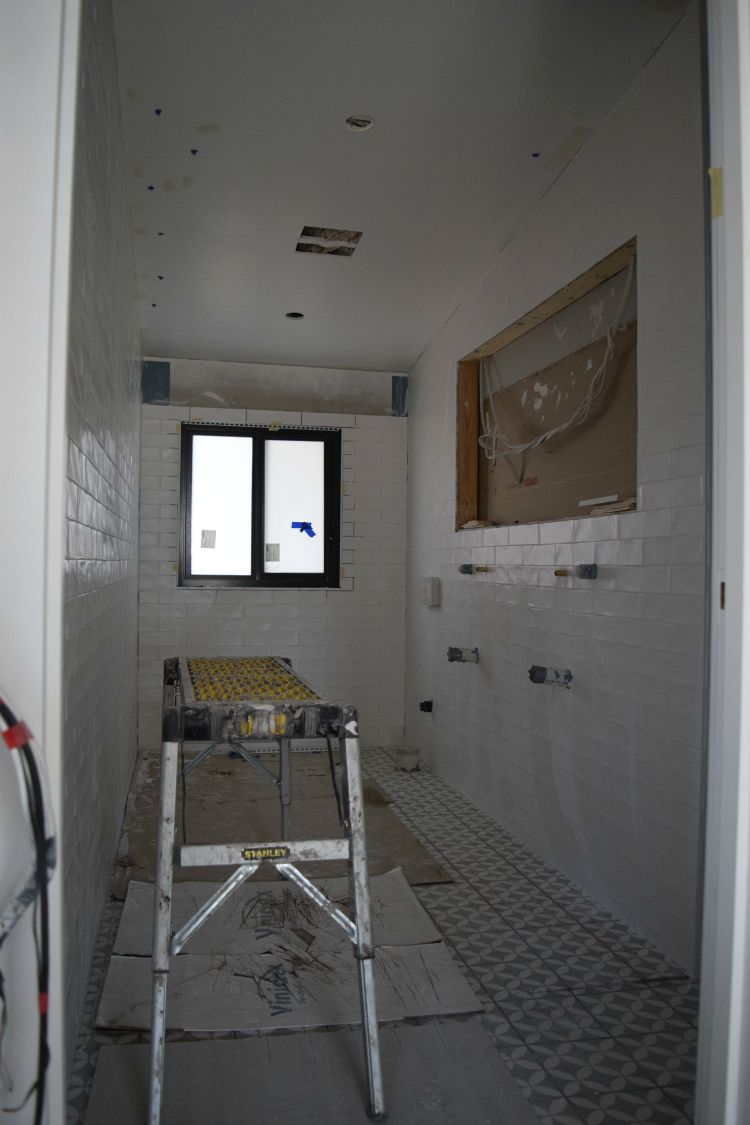 Ensuite in progress